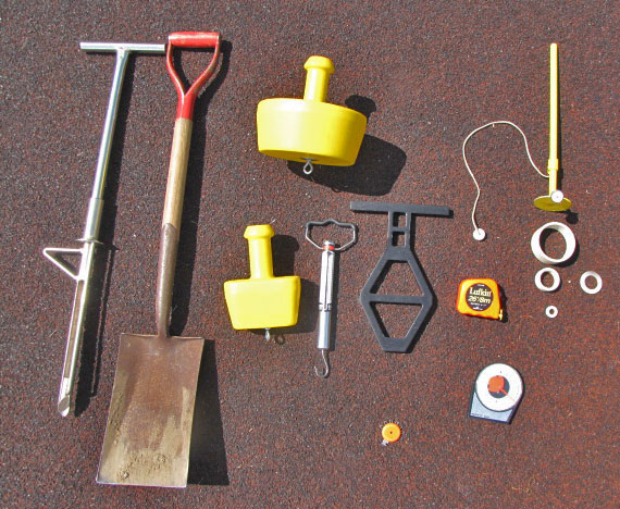 Tools used in inspections